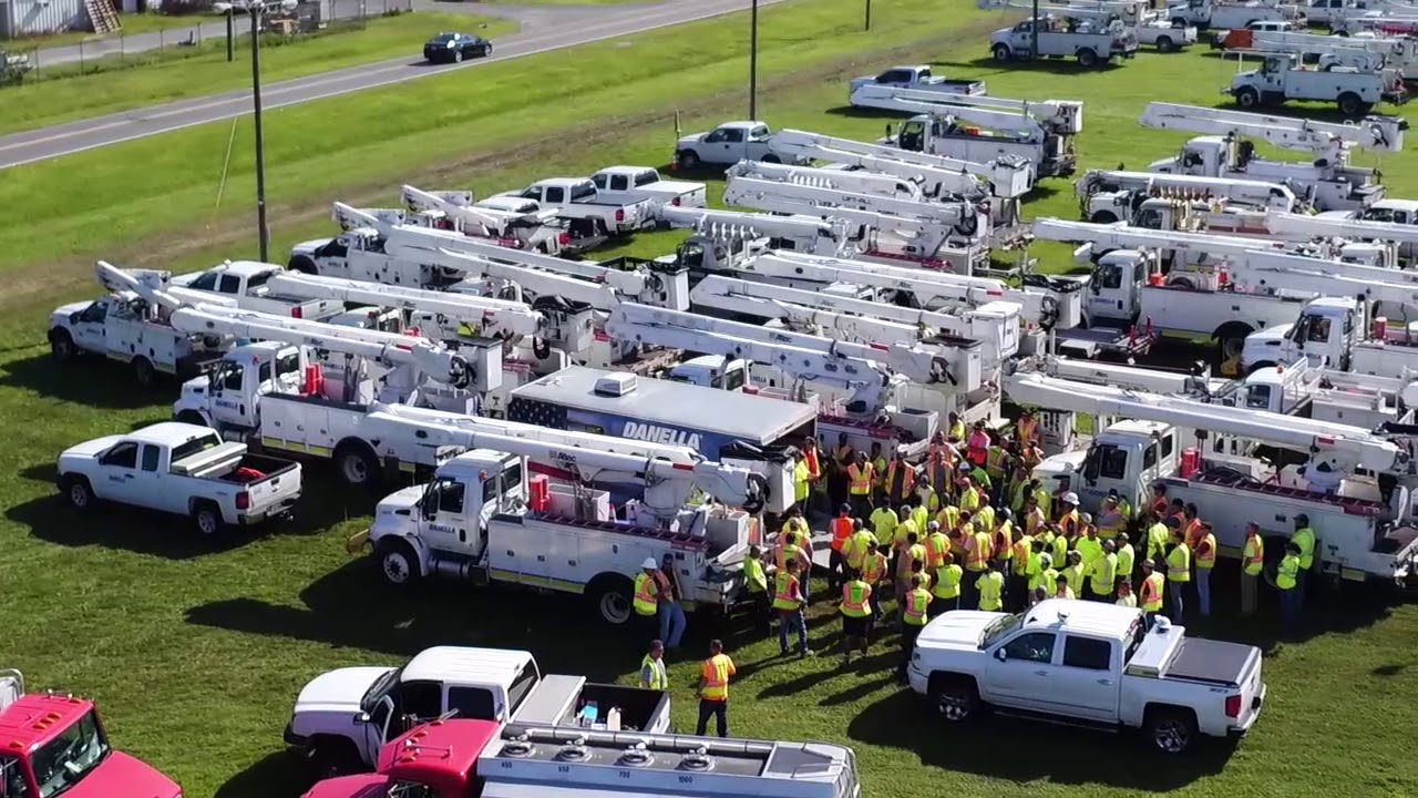 Florida Power And Light Prepares A Restoration Force To Deal With Hurricane  Irmau0027s Aftermath