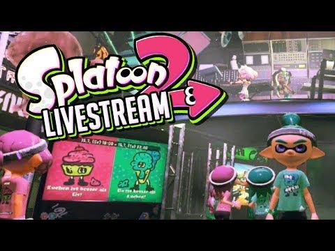 Splatfest Livestream!  Splatoon 2