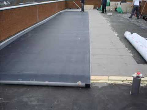 Epdm Over 80mm Kingspan Insulation Over Old Felt Over