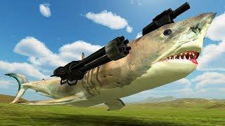 【DE JuN】野獸戰爭模擬器#1 - 血腥的動物戰場!? (Beast Battle Simulator) thumbnail