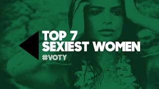 The 7 Sexiest Women of the Year - GQ