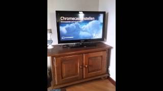 Hoe sluit je chromecast aan