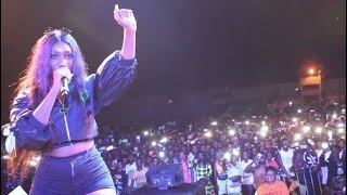 Wendy Shay - Performs at Patapaa album launch in Swedru
