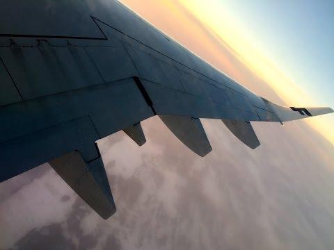 Finnair Landing at Antalya airport Turkey