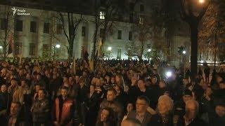 Протести у Києві: люди рушили пікетувати Адміністрацію президента