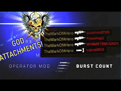 "HOW TO USE AND UNLOCK NEW ""OPERATOR MODS"" IN BLACK OPS 4 (BO4 FUTURE DLC OPERATOR MODS?)"