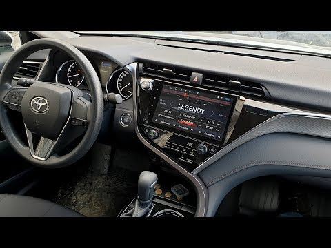 Android-магнитола для Toyota Camry 2019