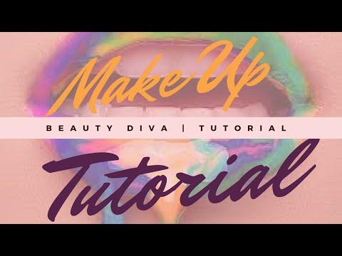 Makeup Meshas broadcast How I did my makeup in highschool  Beauty talk tutorial