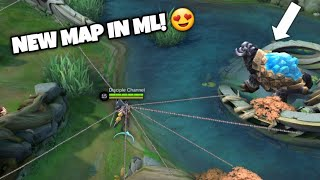 GANDA ng BAGONG MAPA ng MOBILE LEGENDS! ( NEW MAP in MOBILE LEGENDS very CRAZY GOOD )