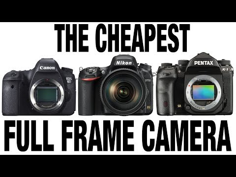 The CHEAPEST full frame Camera ? WATCH this before buying (canon nikon pentax Sony)