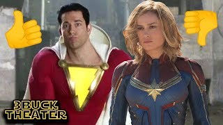 Fans are more excited for SHAZAM than CAPTAIN MARVEL