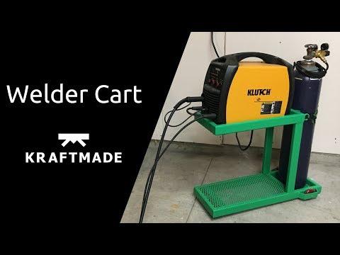 Welding a Welder Cart - Kraftmade