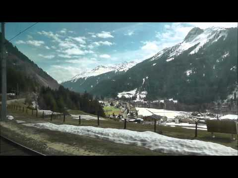 Arlberg Pass: Zurich to Innsbruck by Railjet train