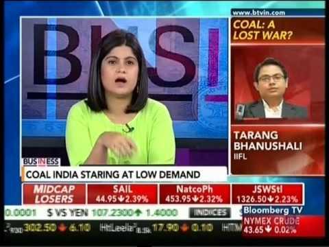 Bloomberg TV In Business 04 May 2016 02min 36sec Mr  Tarang Bhanushali   Metal Analyst, IIFL