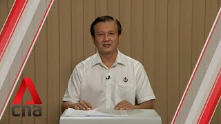 Ge2020: Pap Candidate For Hougang Smc Speaks In Constituency Political Broadcast, Jul 4