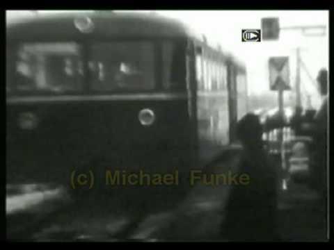 Schienenbus Blexen - Einswarden - Nordenham 1965