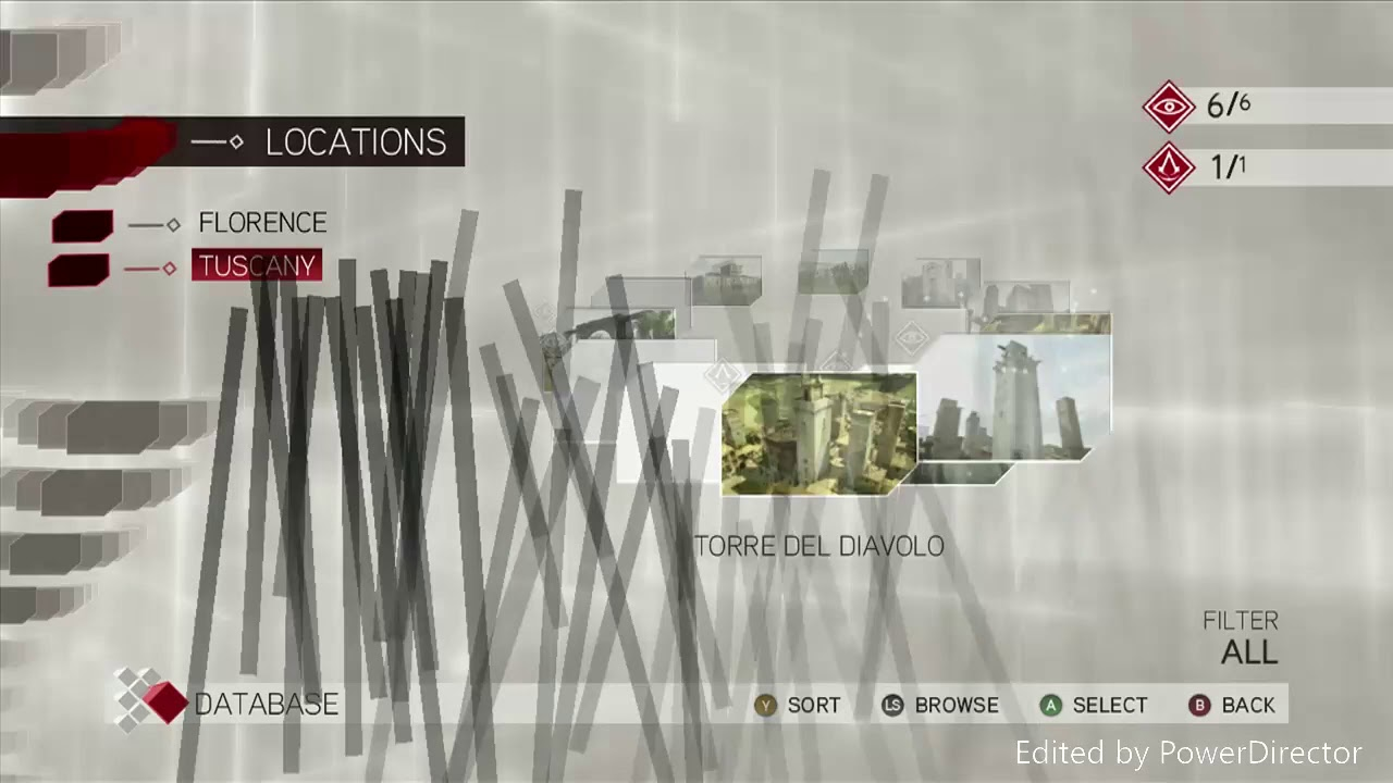 Assassin S Creed 2 Database Locations Tuscany Youtube