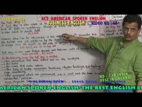 BUSINESS ENGLISH VIDEO    068