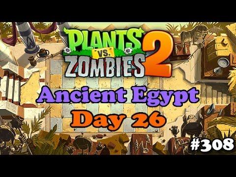 Plants vs. Zombies 2 - Ancient Egypt Day 26 - Egito Antigo Dia 26 (Novas Fases)