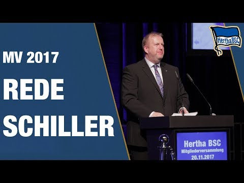 REDE VON INGO SCHILLER - Mitgliederversammlung 2017 - Hertha BSC - Berlin - 2018 #hahohe