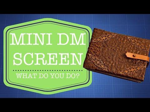 Episode 104 -- Mini DM Screen