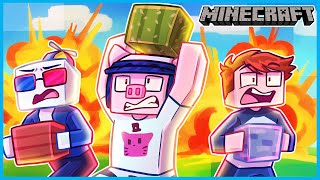 Minecraft but it's an EXPLOSIVE SCAVENGER HUNT...