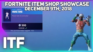 Fortnite Item Shop *NEW* MIME TIME EMOTE! [December 9th, 2018] (Fortnite Battle Royale)