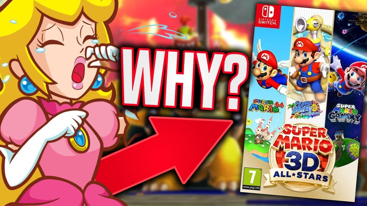 The Big Problem With Super Mario 3d All Stars Collection Youtube