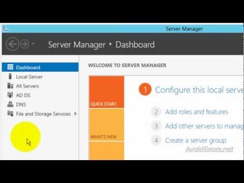How To Share A Folder In Windows Server 2012