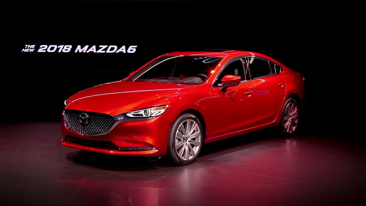 Unveiling The 2018 Mazda6 At The La Auto Show Mazda Usa Youtube