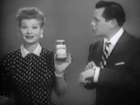 Sanka Instant Coffee With Lucille Ball and Desi Arnaz 1957 TV Commercial HD