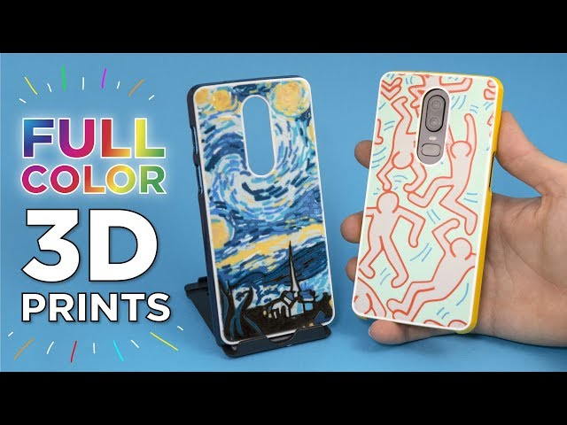 Colorful 3D Prints on a Single Extruder Printer // Artistic Phone Cases