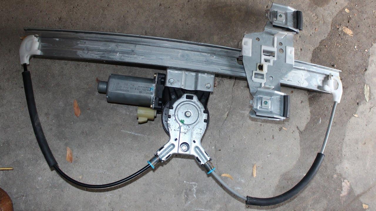 Window Regulator Fix And Install Youtube 2004 Pontiac Grandam Power Motor Assembly Rear