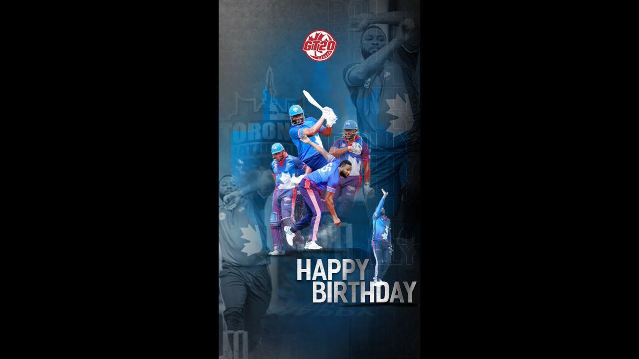 Happy Birthday Big Man, Kieron Pollard | GT20 Canada