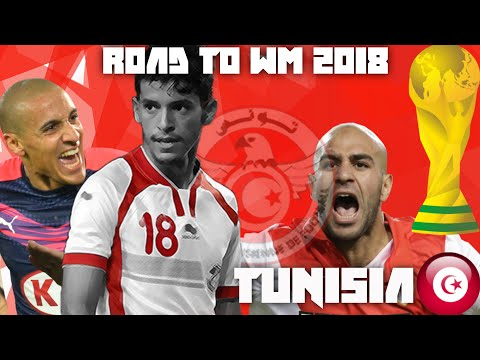 ►Tunisia ♦ Football◄►Road to Russia 2018◄