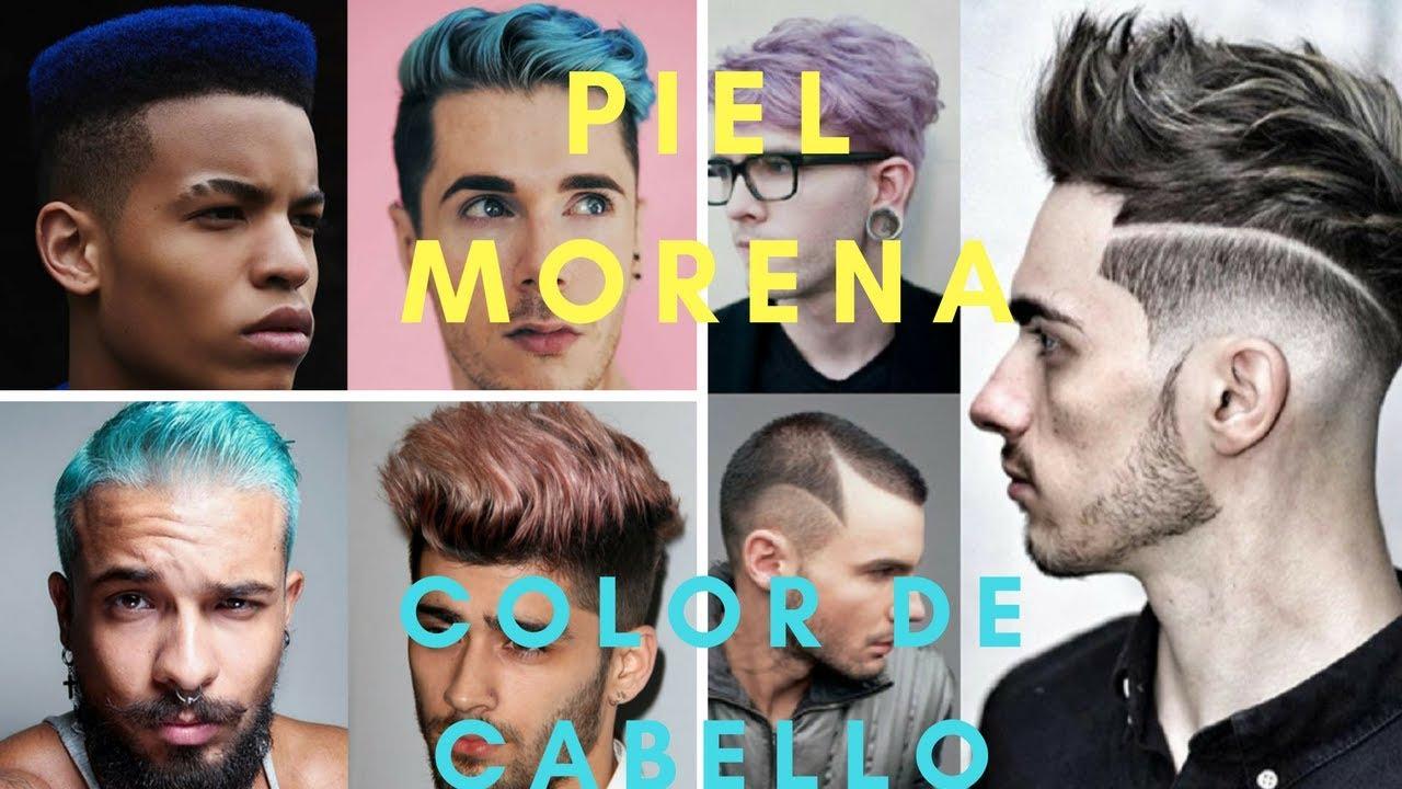Colores de tintes de pelo para hombres