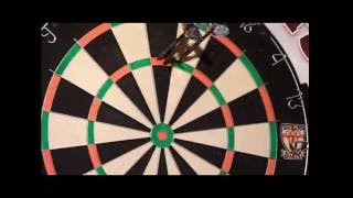How I throw darts in detail and slow motion