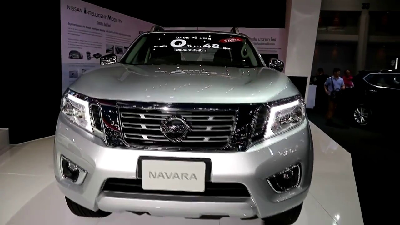 Nissan Navara 25 Vl 2018 Silver Colour Exterior And Interior