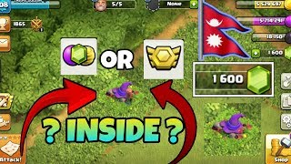 (Nepali) What is inside in the Halloween 🎃 obstacles - witch hat 🎩 - Clash of clans Nepal.