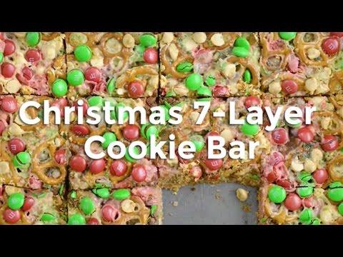 Christmas 7 Layer Cookie Bars