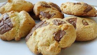 Печенье с Кусочками Шоколада/Дети будут в Восторге!!!