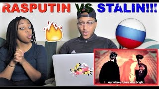 "Epic Rap Battles of History ""Rasputin vs Stalin"" Reaction!!"