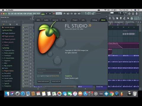 FL Studio 20 Mac Installation