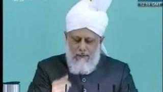 Проповедь Хазрата Мирзы Масрура Ахмада, (21-05-10) часть 6