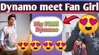 Girl come to meet Dynamo || Pubg mobile || dynamo meet fan girl || Recap Gaming