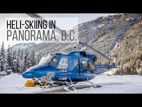 Heli Skiing in Panorama, BC