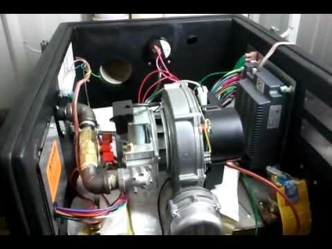 Munchkin boiler noise - YouTube