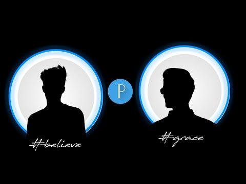Pixellab dark shadow photo editing (2020) | Pixellab face logo