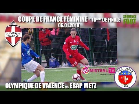 2019 01 06   Séquence foot   CDF Féminine 16e de finale   OV vs METZ