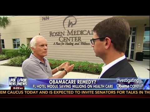 Fox News Profiles Harris Rosen's Health Care Plan